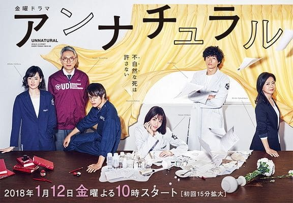 Download Japanese drama Unnatural Death OST